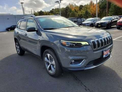 Sting-Gray 2021 Jeep Cherokee Limited 4x4