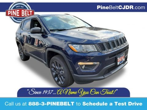 Jazz Blue Pearl 2021 Jeep Compass 80th Special Edition 4x4