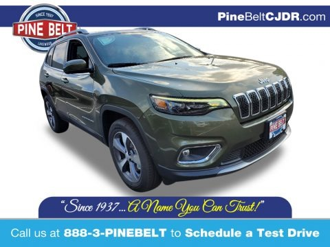 Olive Green Pearl 2021 Jeep Cherokee Limited 4x4
