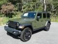 Jeep Wrangler Unlimited Willys 4x4 Sarge Green photo #2