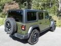 Jeep Wrangler Unlimited Willys 4x4 Sarge Green photo #6