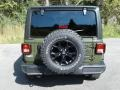 Jeep Wrangler Unlimited Willys 4x4 Sarge Green photo #7