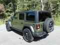 Jeep Wrangler Unlimited Willys 4x4 Sarge Green photo #8
