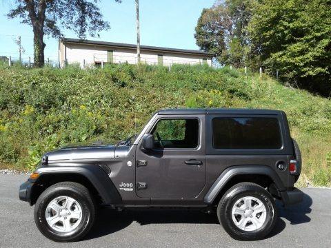Granite Crystal Metallic 2021 Jeep Wrangler Sport 4x4