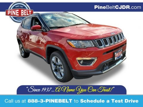 Redline Pearl 2021 Jeep Compass Limited 4x4