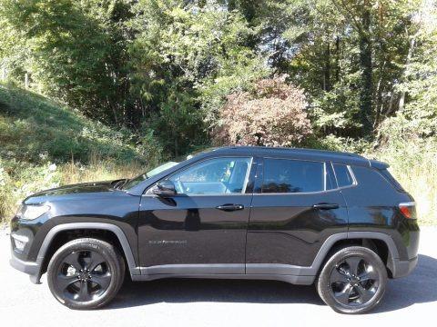 Diamond Black Crystal Pearl 2021 Jeep Compass Altitude 4x4