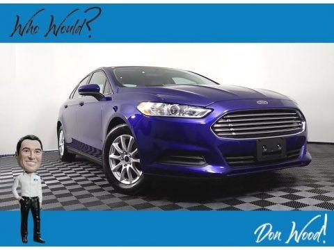 Deep Impact Blue Metallic 2016 Ford Fusion S