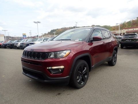 Velvet Red Pearl 2021 Jeep Compass Altitude 4x4