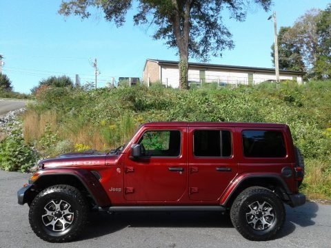 Snazzberry Pearl 2021 Jeep Wrangler Unlimited Rubicon 4x4