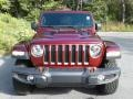 Jeep Wrangler Unlimited Rubicon 4x4 Snazzberry Pearl photo #3