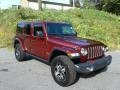 Jeep Wrangler Unlimited Rubicon 4x4 Snazzberry Pearl photo #4
