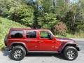 Jeep Wrangler Unlimited Rubicon 4x4 Snazzberry Pearl photo #5