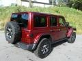 Jeep Wrangler Unlimited Rubicon 4x4 Snazzberry Pearl photo #6