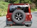 Jeep Wrangler Unlimited Rubicon 4x4 Snazzberry Pearl photo #7