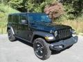 Jeep Wrangler Unlimited Willys 4x4 Black photo #4