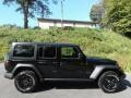 Jeep Wrangler Unlimited Willys 4x4 Black photo #5