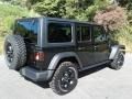Jeep Wrangler Unlimited Willys 4x4 Black photo #6