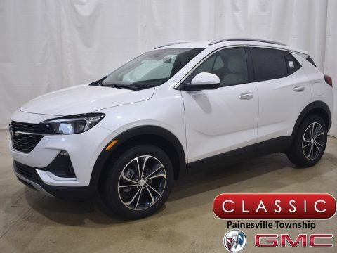 White Frost Tricoat 2021 Buick Encore GX Select AWD