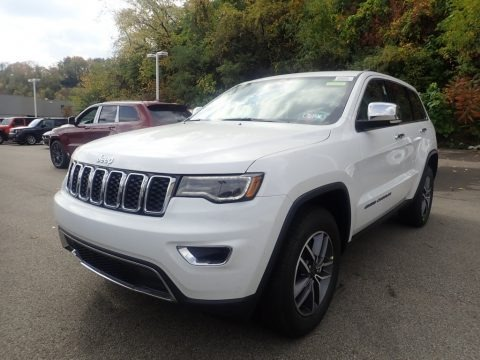 Bright White 2021 Jeep Grand Cherokee Limited 4x4