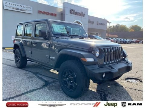 Sting-Gray 2021 Jeep Wrangler Unlimited Sport 4x4