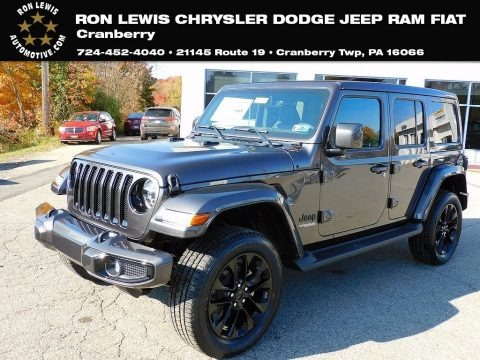 Granite Crystal Metallic 2021 Jeep Wrangler Unlimited High Altitude 4x4