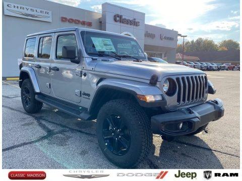 Billet Silver Metallic 2021 Jeep Wrangler Unlimited Sahara 4x4