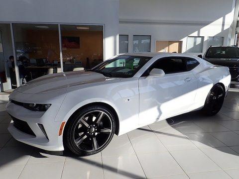 Summit White 2018 Chevrolet Camaro LS Coupe