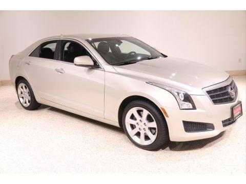 Silver Coast Metallic 2013 Cadillac ATS 2.0L Turbo AWD