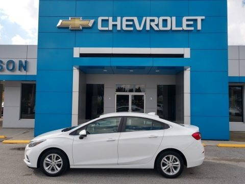 Summit White 2018 Chevrolet Cruze LT