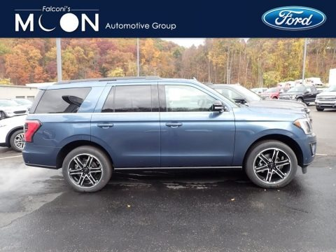 Blue 2020 Ford Expedition Limited 4x4