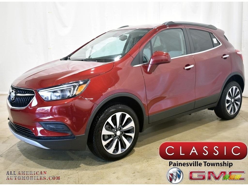 2021 Encore Preferred AWD - Cinnabar Metallic / Shale/Ebony Accents photo #1
