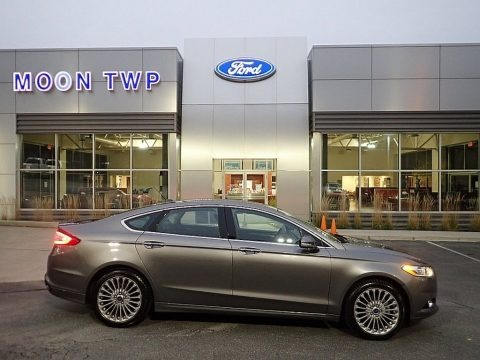 Sterling Gray 2014 Ford Fusion Titanium AWD