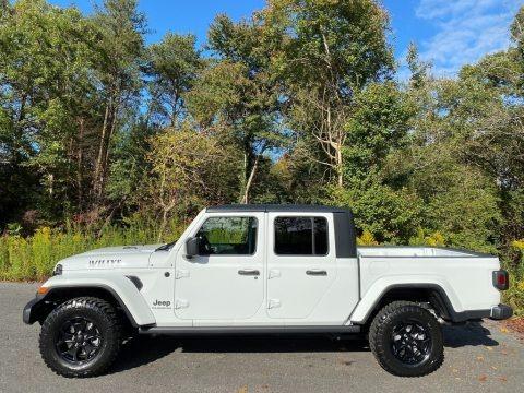 Bright White 2021 Jeep Gladiator Willys 4x4