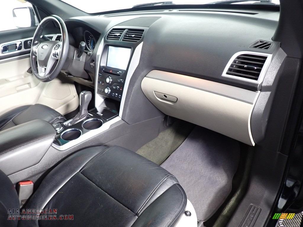 2013 Explorer XLT 4WD - Green Gem Metallic / Charcoal Black photo #34