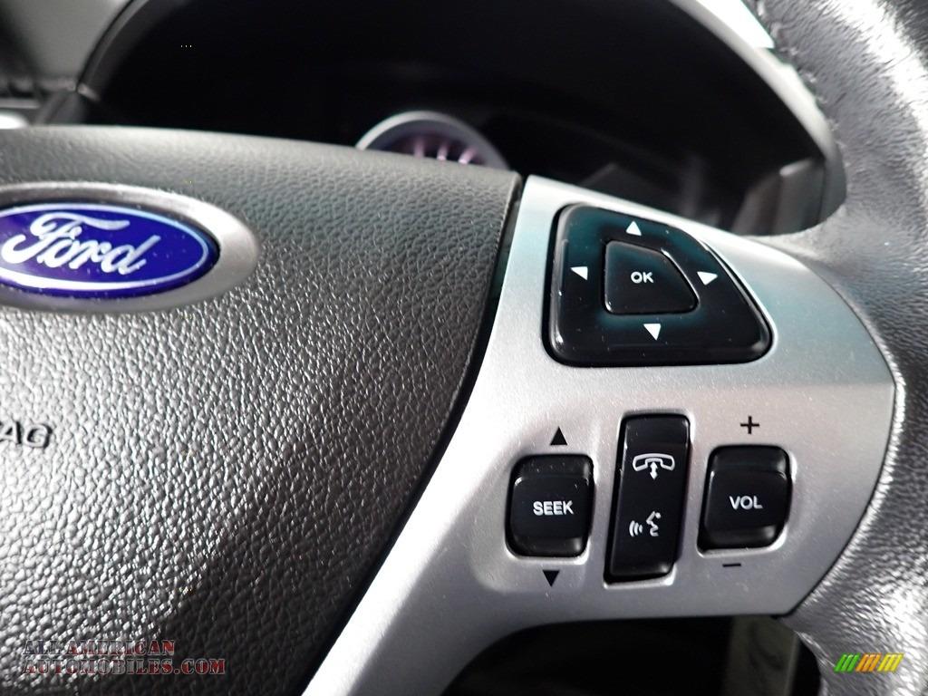 2013 Explorer XLT 4WD - Green Gem Metallic / Charcoal Black photo #39