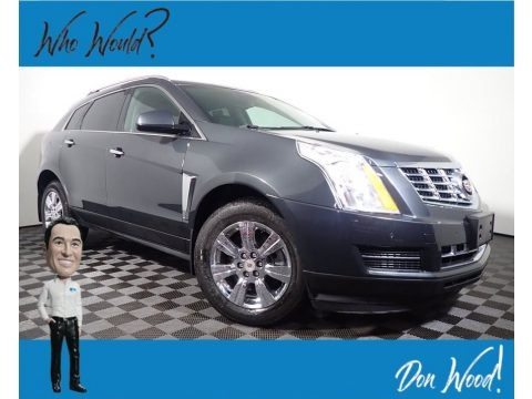 Graphite Metallic 2014 Cadillac SRX Luxury