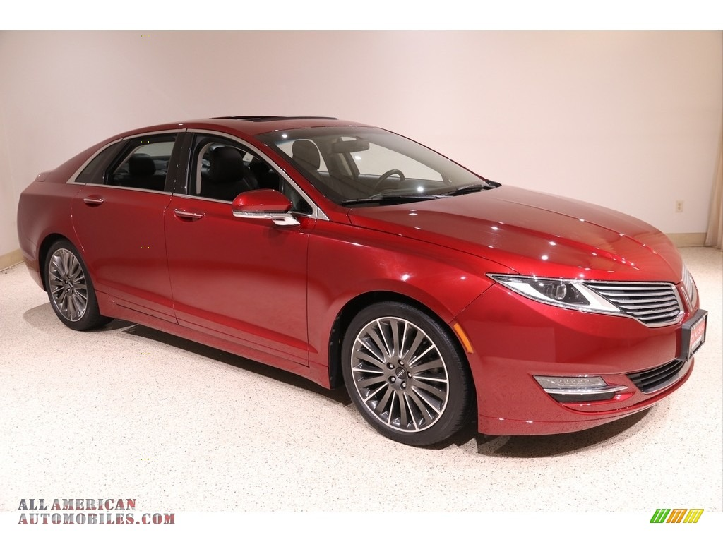 2013 MKZ 2.0L EcoBoost AWD - Ruby Red / Charcoal Black photo #1