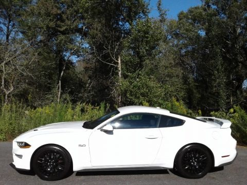 Oxford White 2019 Ford Mustang GT Fastback