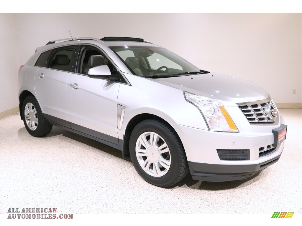 2013 SRX Luxury AWD - Radiant Silver Metallic / Light Titanium/Ebony photo #1