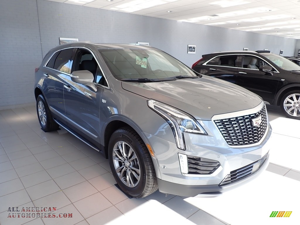 2021 XT5 Premium Luxury AWD - Satin Steel Metallic / Jet Black photo #1