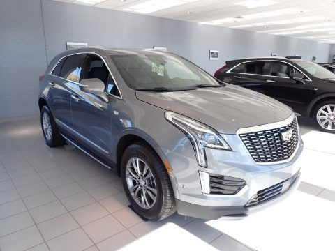 Satin Steel Metallic 2021 Cadillac XT5 Premium Luxury AWD