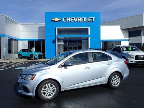 Arctic Blue Metallic 2017 Chevrolet Sonic LS Sedan