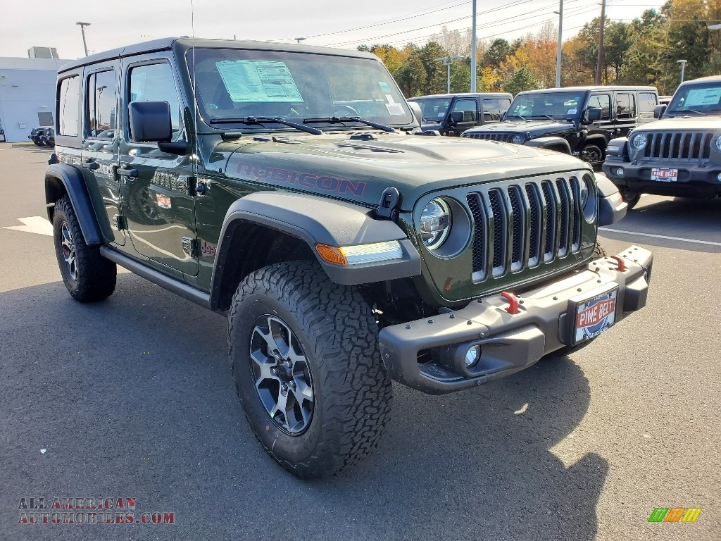 Sarge Green / Dark Saddle/Black Jeep Wrangler Unlimited Rubicon 4x4