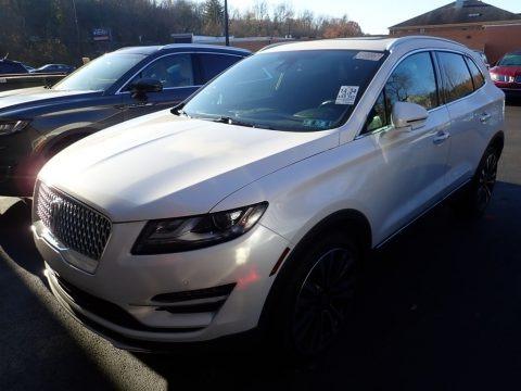 White Platinum 2019 Lincoln MKC Black Label AWD