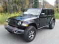 Jeep Wrangler Unlimited Rubicon 4x4 Black photo #2