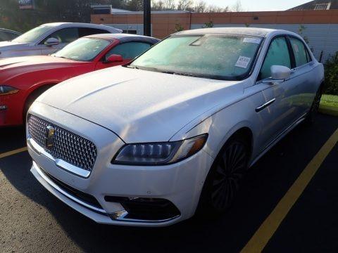White Platinum 2017 Lincoln Continental Black Label AWD