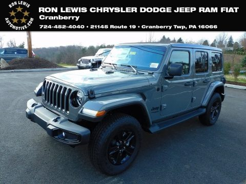 Sting-Gray 2021 Jeep Wrangler Unlimited Sahara Altitude 4x4