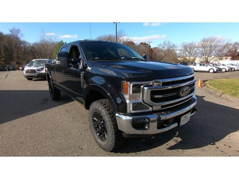 Agate Black 2020 Ford F250 Super Duty Lariat Crew Cab 4x4 Tremor Off-Road Package