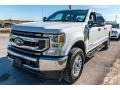 Ford F350 Super Duty XLT Crew Cab 4x4 Star White photo #8