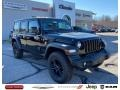 Jeep Wrangler Unlimited Sport 4x4 Black photo #1